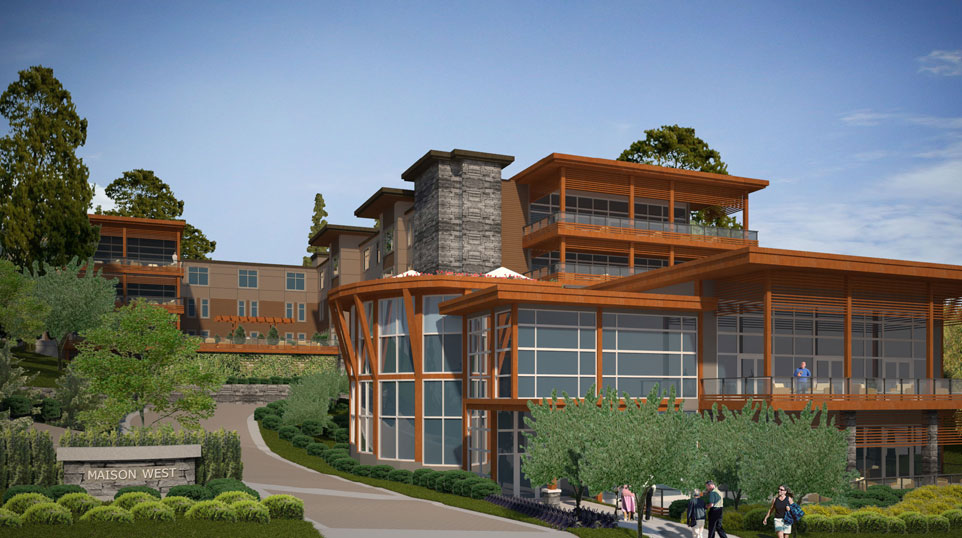 Land sold west vancouver by london pacific - Maison jardin assisted living avignon ...